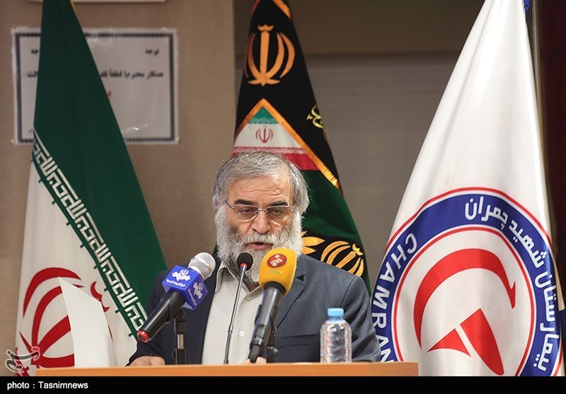 Mohsen Fakhrizadeh, credit Tasnim News Agency