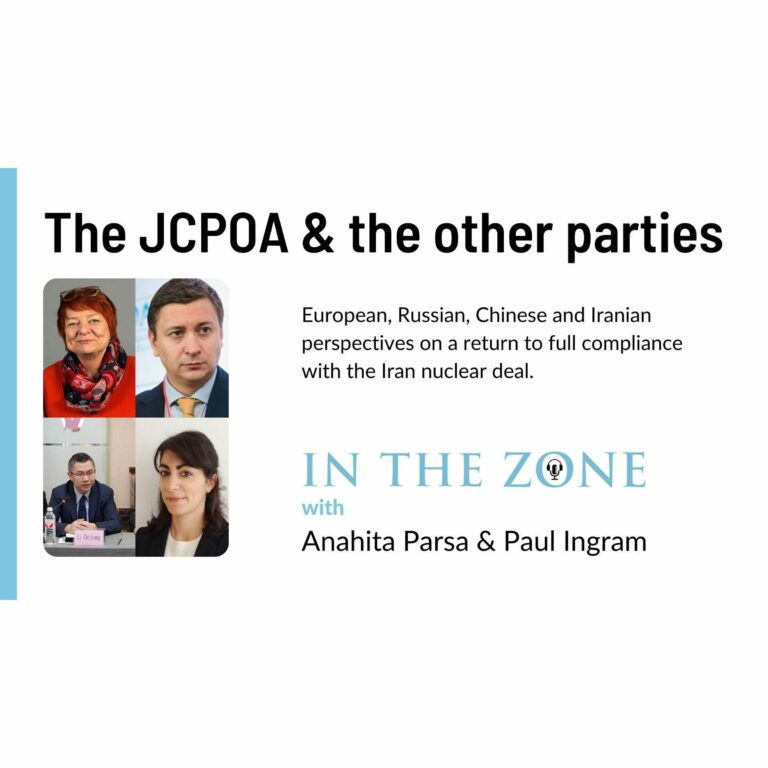 Ep. 7 – The JCPOA and the other parties