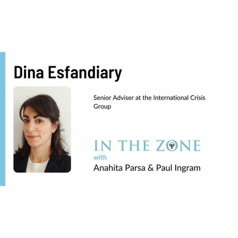 Ep. 11 – Interview with Dina Esfandiary